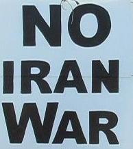 No Iran War