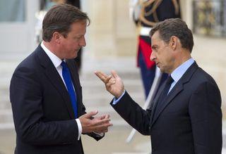 Nicolás Sarkozy - David Cameron