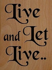 Live-and-let-live