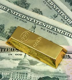 Dollars_gold