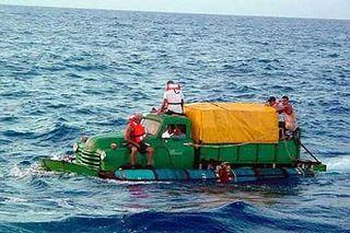 Truck-raft
