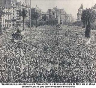 Plaza-de-Mayo-el 23-de-septiembre-de-1955-