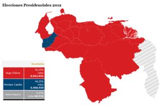 Elecciones 2012 Venezuela - Resultados