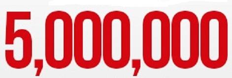 5 millones