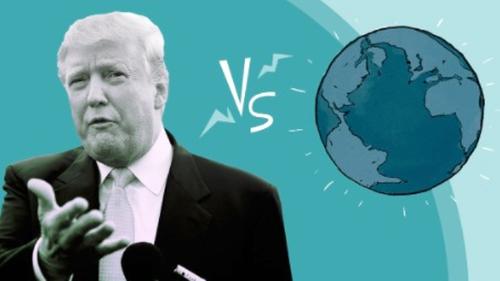 Mundo y Trump