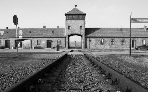 Resultado de imagen de 1945, el ejército soviético liberó el mayor campo de exterminio nazi, en Auschwitz-Birkenau