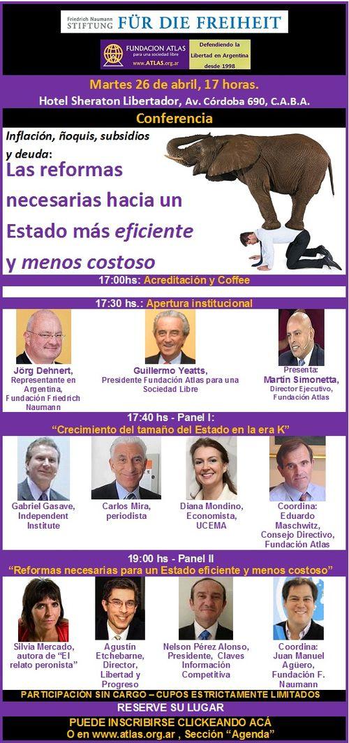 Conferencia - 26 de abril - 2016